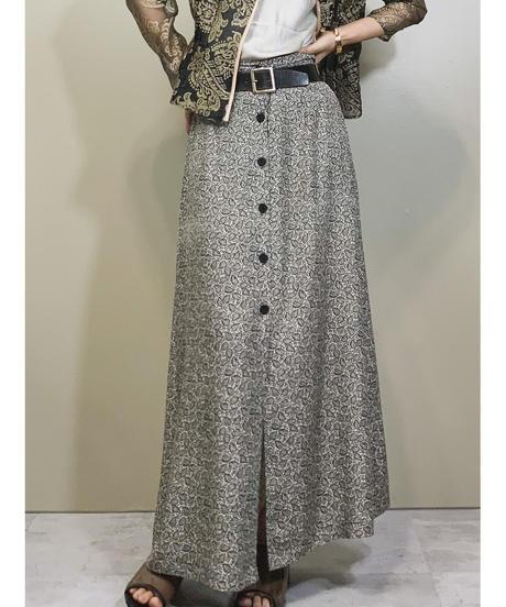 BARAKA made in u.s.a maxi skirt-1226-6