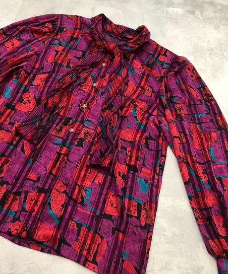 FOR A SPECIRL Ciurr rétro ribbon shirt-1813-4