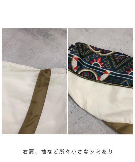 R.E .SPORT gold line nylon  jacket -1768-3