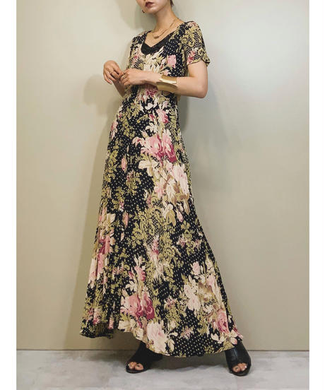 STARINA flower long dress