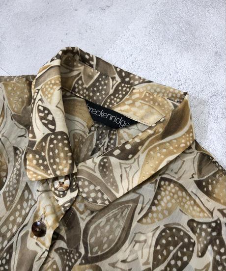 breckenridge elegant see-through shirt-1317-8