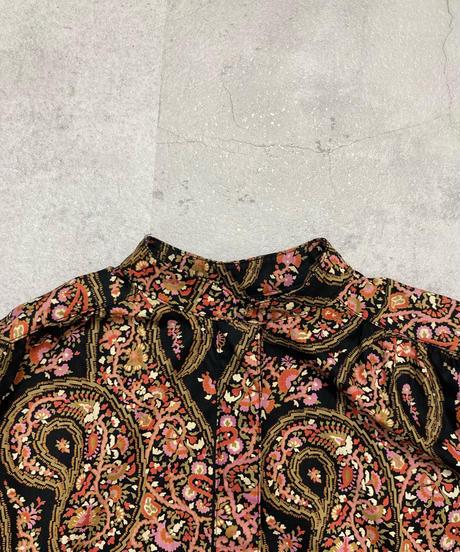 Paisley flower design volume dress-2217-10