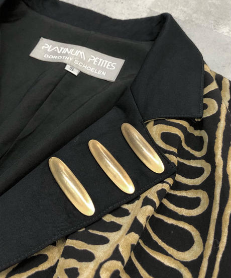 PLATINUM PETITES made in u.s.a vintage jacket-1691-2