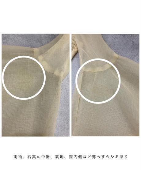 Lace flare sleeve vintage  maxi dress-1704-2