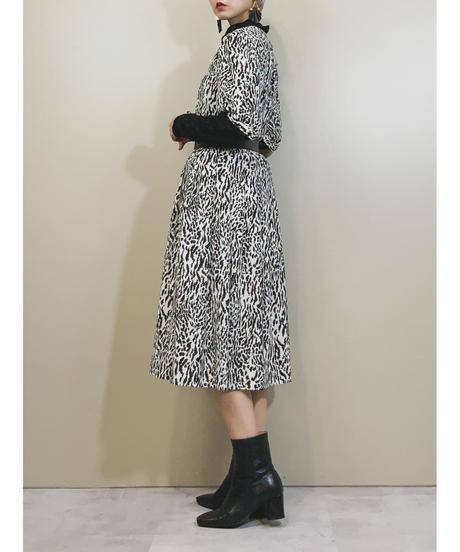 Aris zebra pattern rétro dress-1854-4