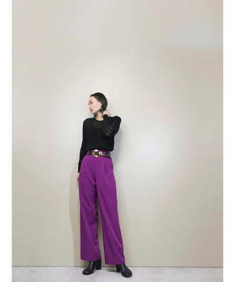 Fil-meme SOPHIA INC. black spring knit-1682-2
