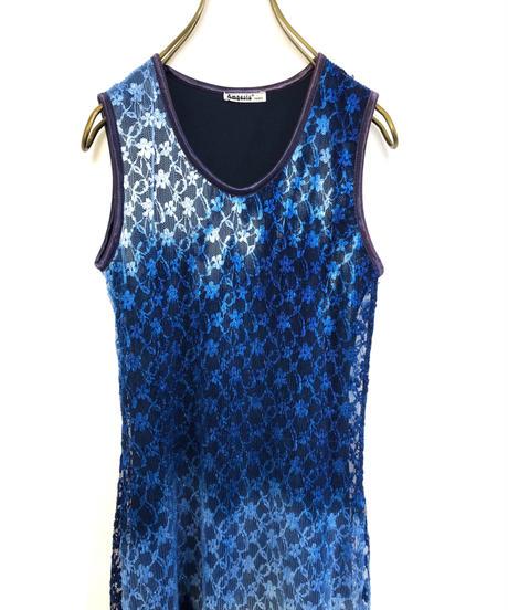 Amaesia PARIS MADE IN FRANCE gradation color maxi dress-1982-6