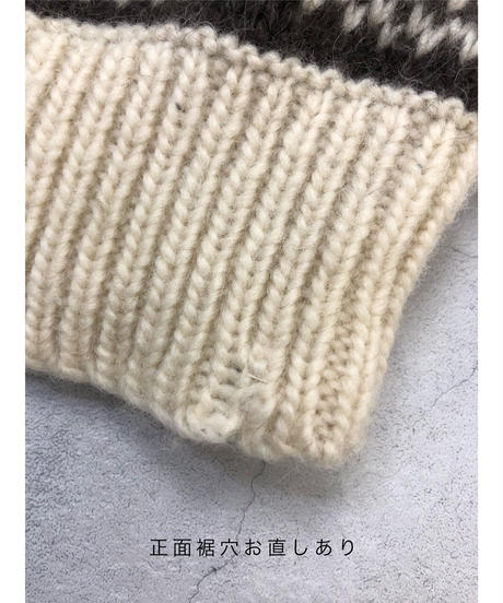 STOBI MADE IN ICELAND pure new wool knit-1523-11