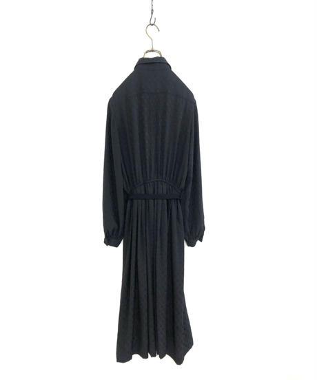 Victoire ATELIER ROMI black rétro dress-1764-3