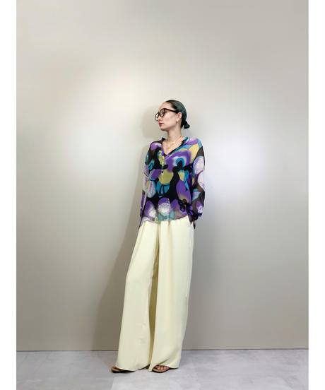 MADE IN ITALY Dlxle sheer shirt-1934-6