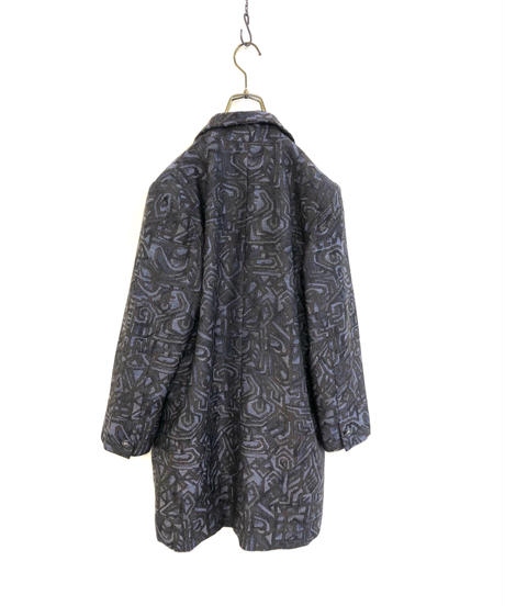 Dull color Jacquard fabric tailored jacket-1617-1