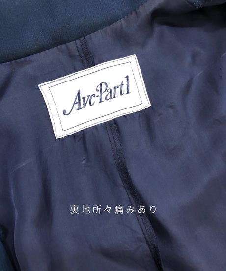 Avc-Partl navy color pleated dress-1913-5