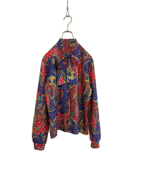 Primary colors rétro bowtie shirt-1699-2