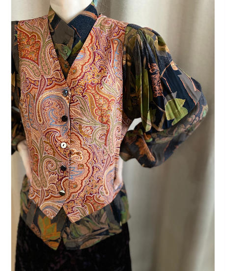 The Scotch House paisley design vest-2220-10