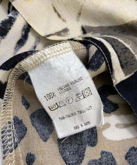 BONITA shell button import over size shirt-2035-7