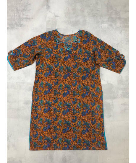Ethnic design import traditional orange set up-1895-5