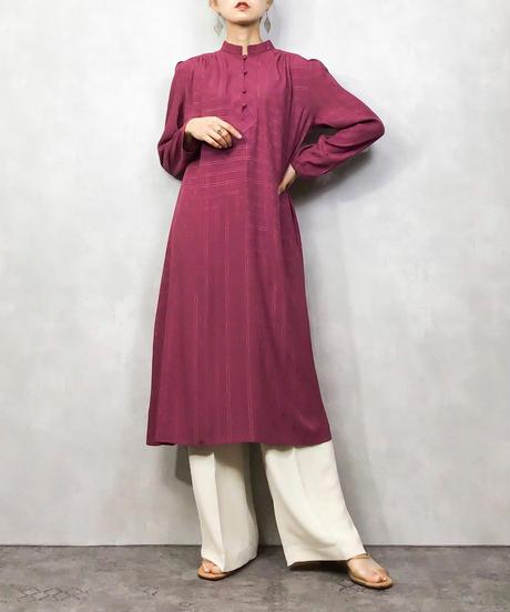 MINE COCO ELEGANCE stand collar dress-1092-4