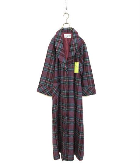 ORIGINAL OElm Tartan plaid gown-1612-1