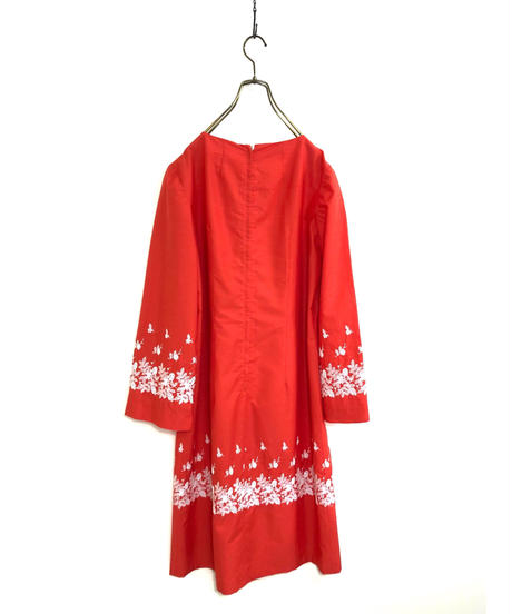 Embroidery design box silhouette import dress-1837-4