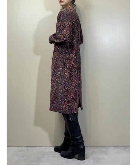Sorell FonTana rétro flower silk dress-2200-9