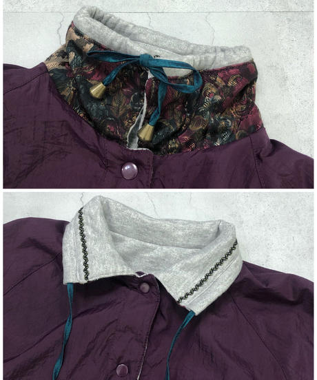 current seen reversible nylon jacket-1652-2