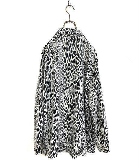 Animal design leopard import shirt-1384-9