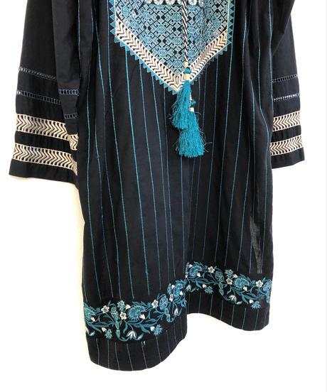 SATRANGI BONANZA embroidery tunic-1301-7