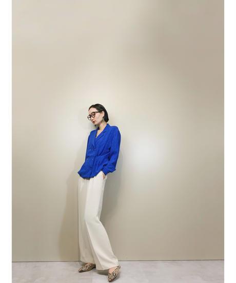 Oleg Cassini Blouse Collection silk shirt jacket-1685-2
