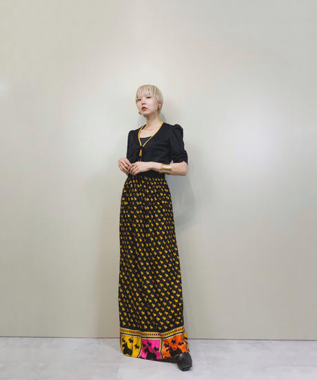 MaD WhiRL CALIFORNIA vintage maxi dress-1850-4