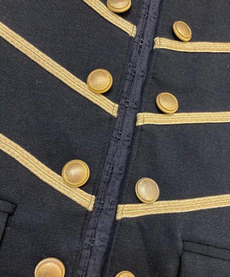 GRAFfiti stand collar noble design jacket-1544-12