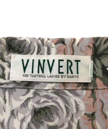 VINVERT elegant flower shirt-1008-3