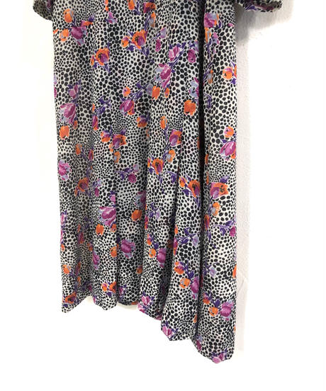 Kanebo original rétro flower dress-1928-6
