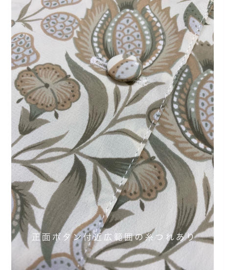 LOPEL elegant flower no collar tops-2144-9