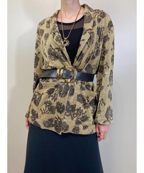 CONTEMPO Casuals glitter inport shirt jacket-1828-4