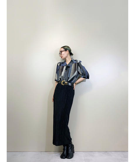 Raffine geometric design mode shirt-1912-5