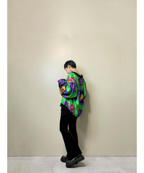 Constant bright yellow green import  jacket-2223-10
