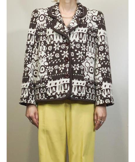 TS. winter design rétro brown jacket-1576-12