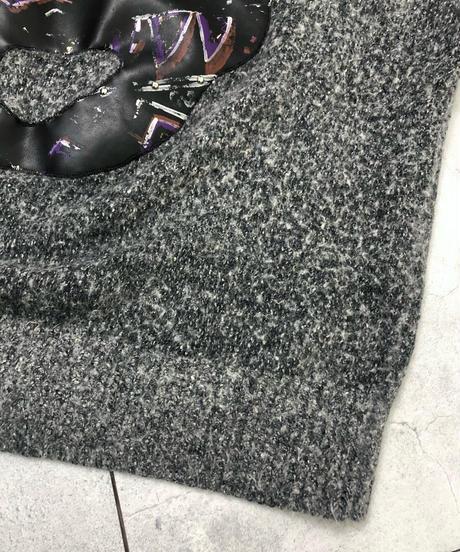 I.B DIFFUSION studs design silk knit-1546-11