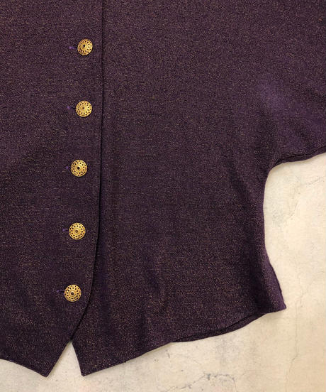 Part-one give glitter purple tops-1644-2
