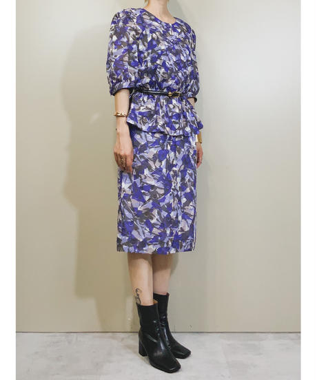 VOIRⅢ PRODUCED BY SANYO rétro dress-1927-6