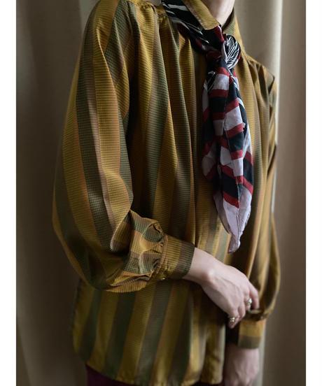 ORIGINAL FOR LADIES rétro stripe shirt-2209-10