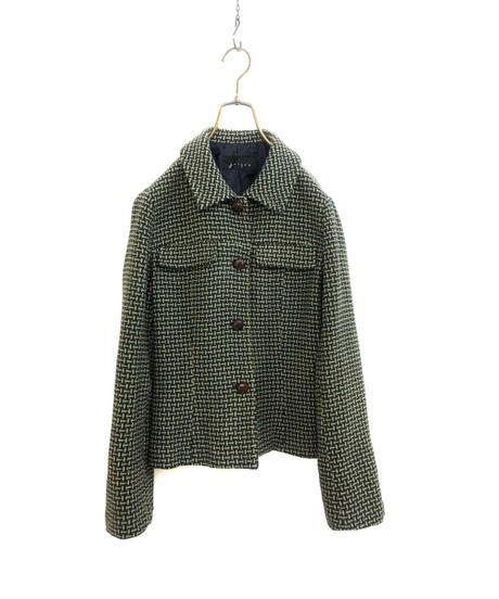 jusqua mannish  design wool rétro jacket-1587-1