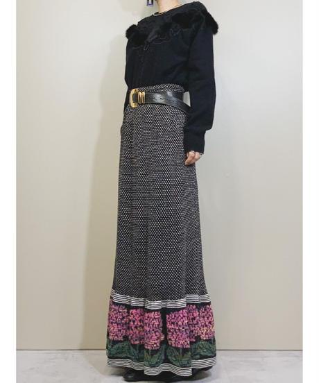 Deluxe lambswool black knit-1614-1