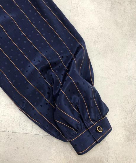 MISS ONWARD navy classical dress-1757-3