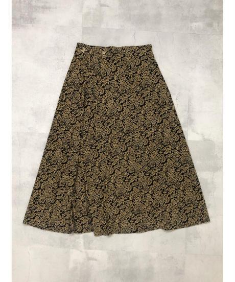 Ethnic vintage design flare skirt-1791-4
