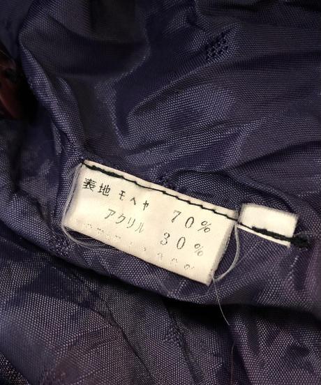 Fluffy mohair knit cardigan-844-1