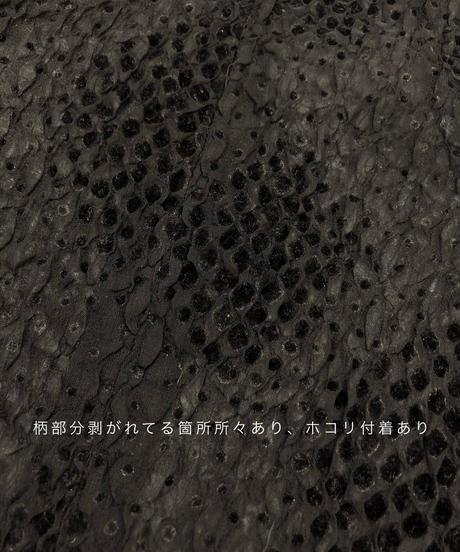 Pare dot design black see-through tops-1720-3