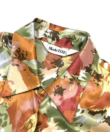 Mode RIE tropical flower shirt-931-2