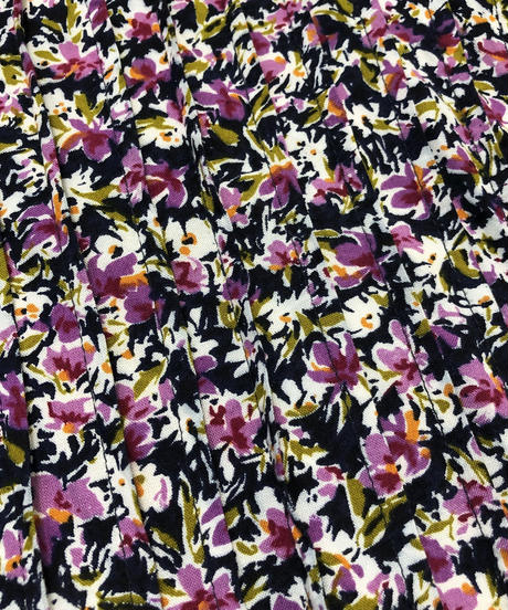 J.BS.LTD. purple flower dress-405-7
