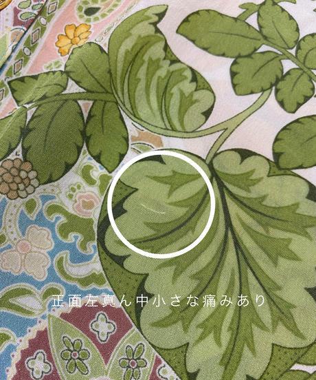 Healthy botanical flower silk shirt-2050-7